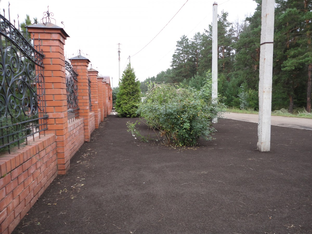 Подготовленный участок под укладку рулоннго газона (4)