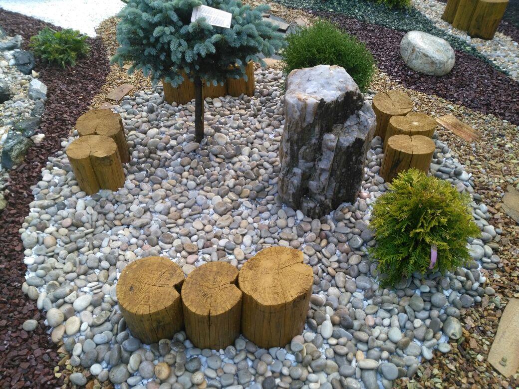 Устройство каменного сада